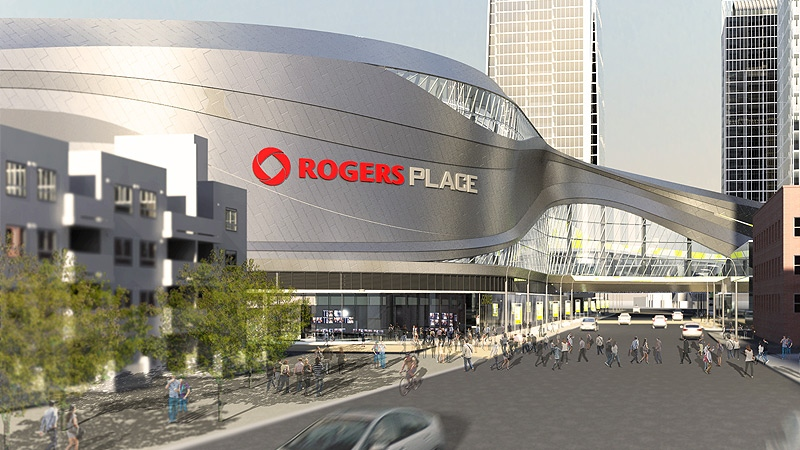 Image result for rogers place