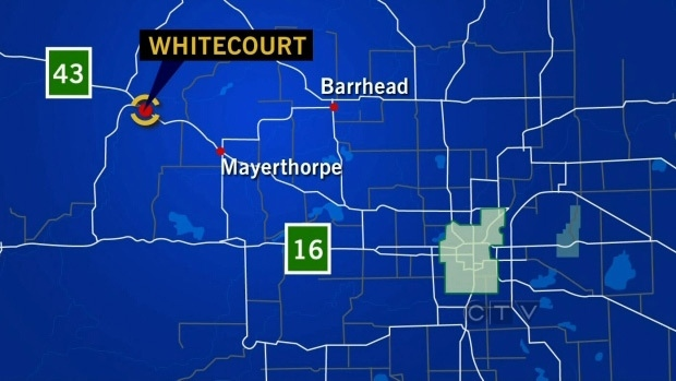 Whitecourt Map