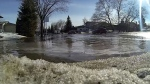 The province has issued a spring runoff advisory to warn residents about possible flooding at low-lying streams and creeks.