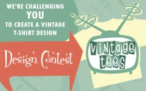 Vintage Tees - T-Shirt Design Contest