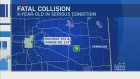 CTV Edmonton: One dead, one in hospital after cras