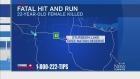 CTV Edmonton: One dead in hit and run