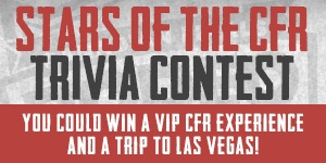 Stars of the CFR Trivia Contest - Front