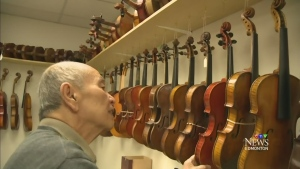 CTV Edmonton: Small Business Week: PJ Tan Violin