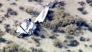 LIVE2: Virgin Galactic's spaceship crashes