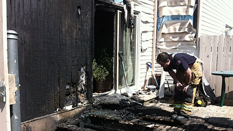Investigators are trying to figure out what caused a house fire in the city's south side Sunday. May 13.