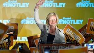 'We might have made a little bit of history,' NDP Rachel Notley named premier-elect of Alberta