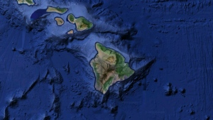The Big Island of Hawaii (Google Earth)
