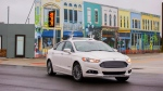Ford tests autonomous vehicle at MCity (Ford)