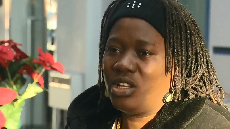 Suzie Kaddu spoke to CTV News Tuesday, December 29, a day after her car was stolen, with her 8-month-old daughter in the back seat.