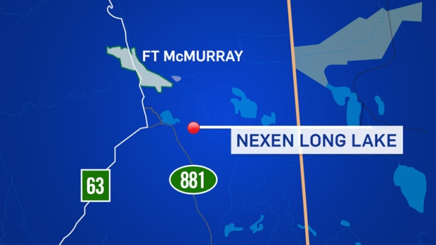 Nexen Long Lake map