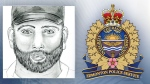 EPS released a composite sketch of a suspect in an alleged assault on February 4, at a hotel on Gateway Blvd. Supplied.