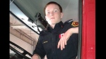 RCMP have arrested and charged a 19-year-old volunteer firefighter from Mayerthorpe with 18 counts of arson.