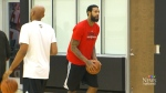 CTV Toronto: Raptors back on court after game 7