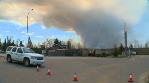 Fort McMurray wildfire - May 2