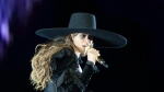 Beyonce performs during the Formation World Tour at Carter Finley Stadium on Tuesday, May 3, 2016, in Raleigh, N.C. (Photo by Daniela Vesco/Invision for Parkwood Entertainment/AP Images)