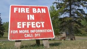 City of Edmonton Fire Ban