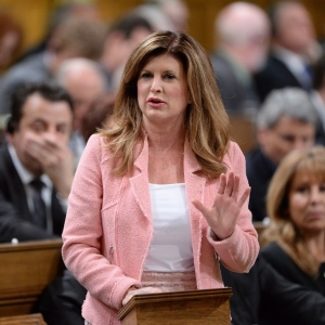 Interim Conservative Leader Rona Ambrose answers a question during Question Period in the House of Commons on Parliament Hill in Ottawa on Thursday, May 19, 2016. (THE CANADIAN PRESS/Adrian Wyld)