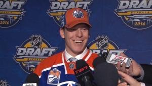 Oilers draft pick Tyler Benson