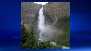 Takakkaw Falls in Yoho National Park near the Alberta/British Columbia border (file)