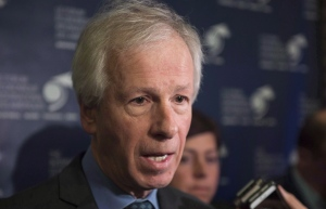 Foreign Affairs Minister Stephane Dion is shown at the Conference de Montreal, Monday, June 13, 2016 in Montreal. (THE CANADIAN PRESS/Paul Chiasson)