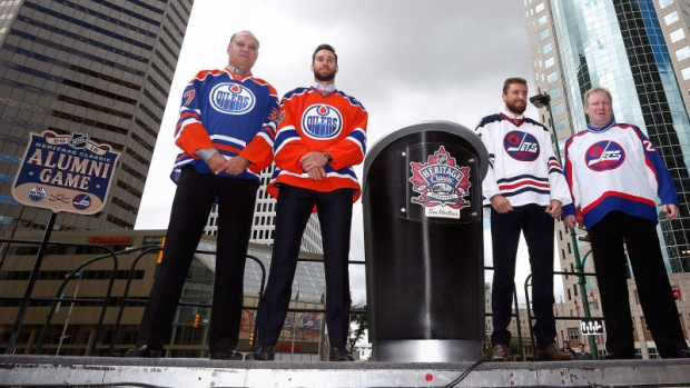 Jets unveil beautiful Heritage Classic jerseys; alumni game rosters revealed