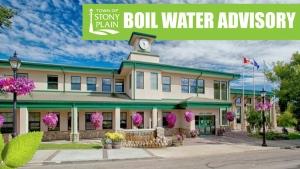 Stony Plain Boil Water Advisory