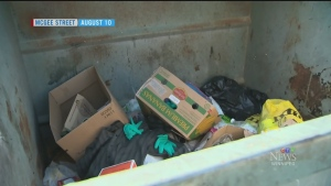 Man found in garbage confined before death