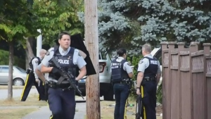 Surrey neighbourhood under lockdown