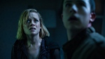 "This image released by Sony Pictures shows Jane Levy, left, and Dylan Minnette in a scene from ""Don't Breathe."" According to studio estimates Sunday, Aug. 28, 2016, audiences turned out in droves for the late summer thriller, which brought in $26.1 million. (Gordon Timpen/Sony/Screen Gems via The Associated Press)"