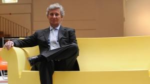 CEO of Italian design company Kartell, Claudio Luti © AFP / GIUSEPPE CACACE