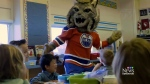 Edmonton Oilers mascot