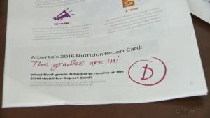 Alberta's nutrition grade