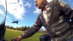 Farmer raises Canada Goose
