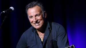 Bruce Springsteen performs at the 9th Annual Stand Up For Heroes event in New York on Nov. 10, 2015. (Greg Allen / Invision)