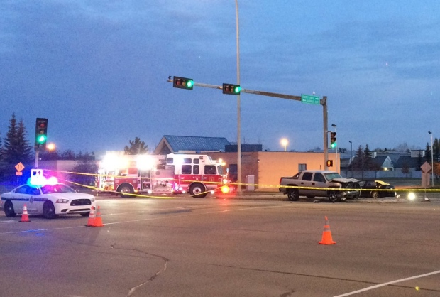 Fatal accident, Baseline Road closed westbound