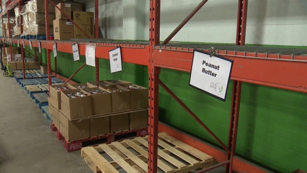 A record number of people seek help from the Edmonton Food Bank.
