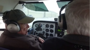 95 year old pilot