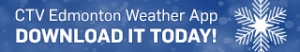 CTV Edmonton weather app promo - mobile - winter