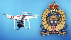 EPS logo drone