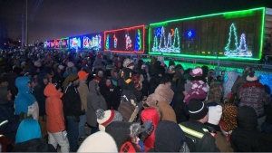 CP Holiday Train in Leduc