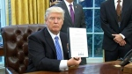 CTV National News: Trump signs executive orders