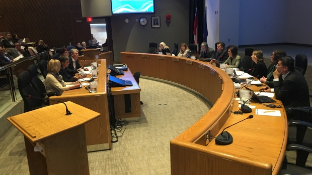 Edmonton Public Schools board meeting, seclusion