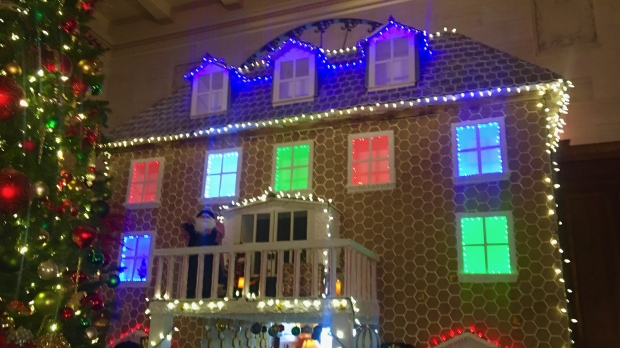 gingerbread house hotel Macdonald