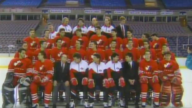 Équipe Canada - & # 39; 95 Juniors mondiaux