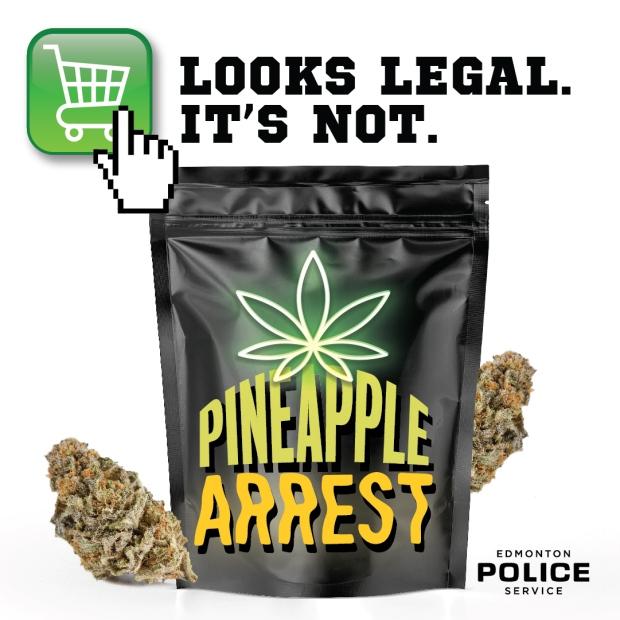Edmonton police arrest ad