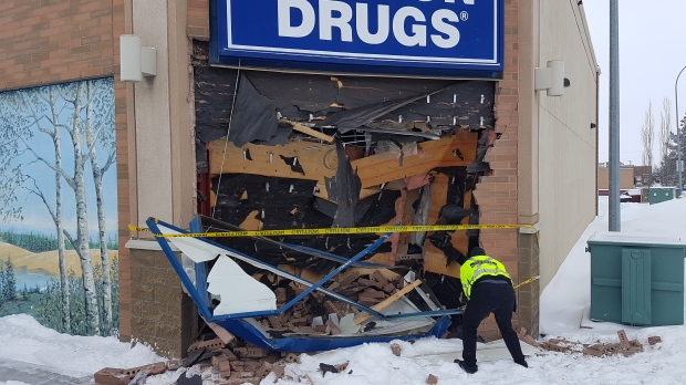 London drugs crash aftermath