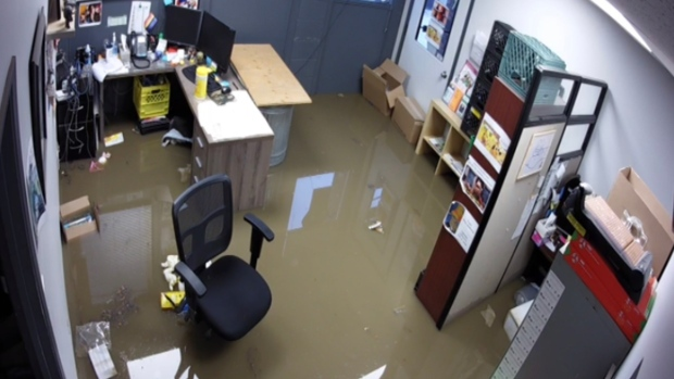 Wood Buffalo Food Bank flooding