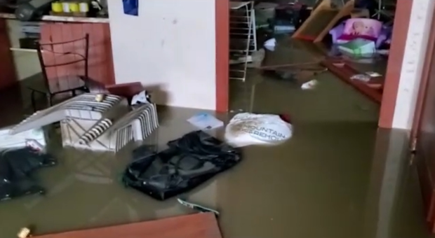 Fort McMurray flooded home