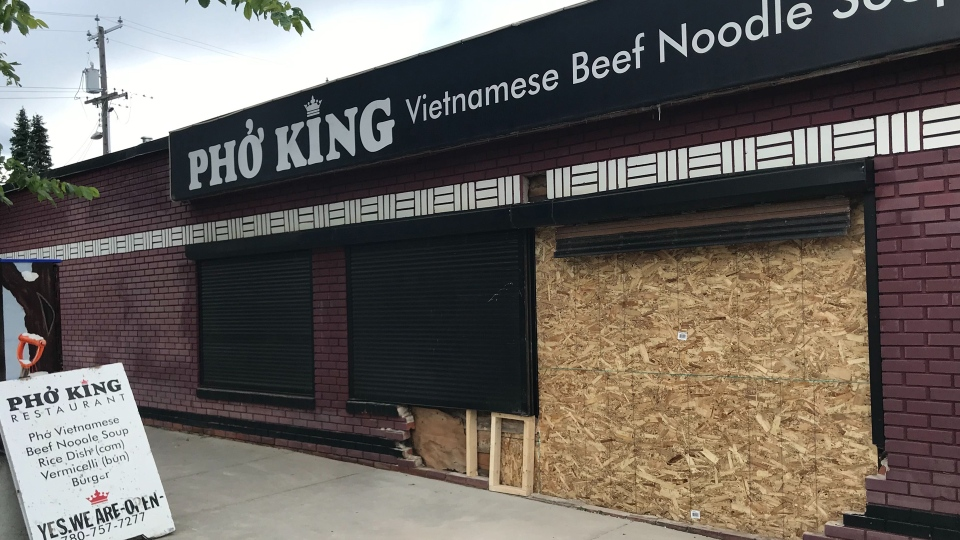 Pho King crash